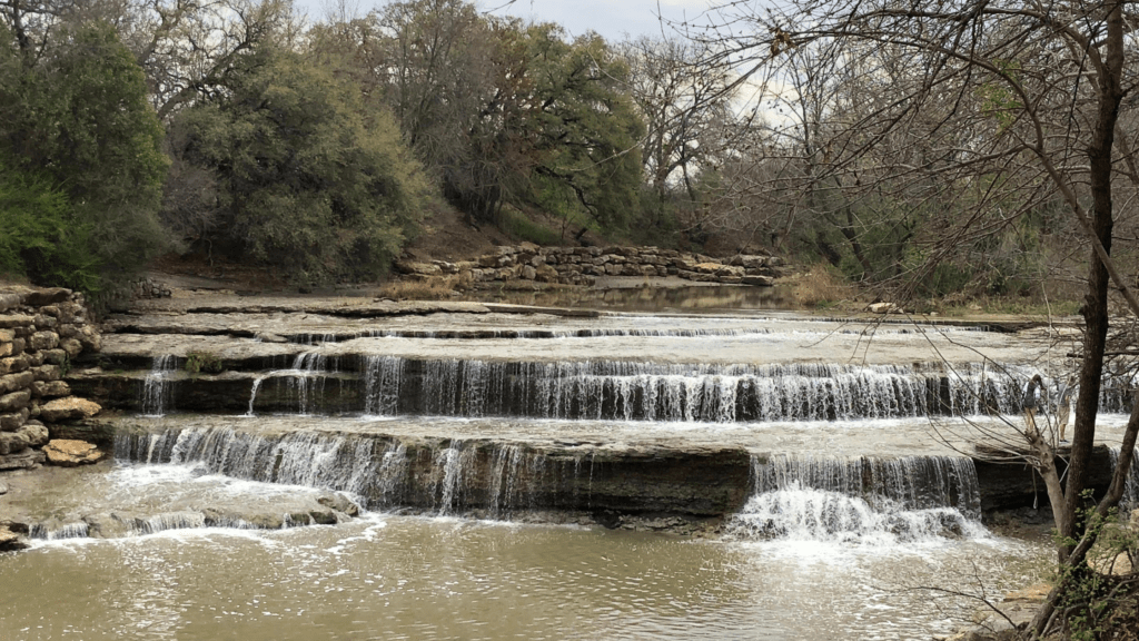 Airfield Falls Conservation Park - Fort Worth, Texas